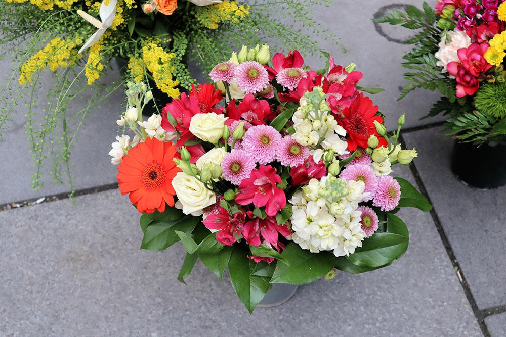 ウィーンの花屋