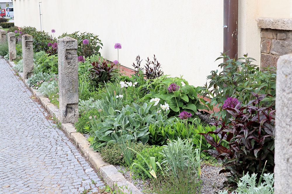 テルチの花壇