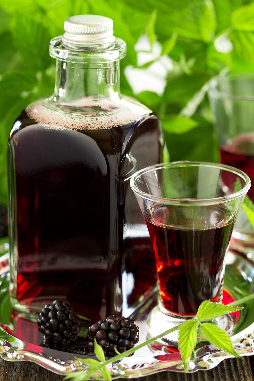 ブラックベリーのお酒