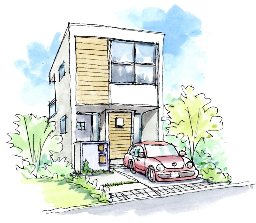 シンプルモダンな住宅様式