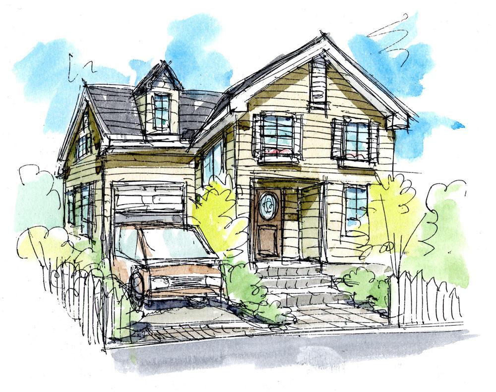 アーリーアメリカン(北米風)な住宅様式