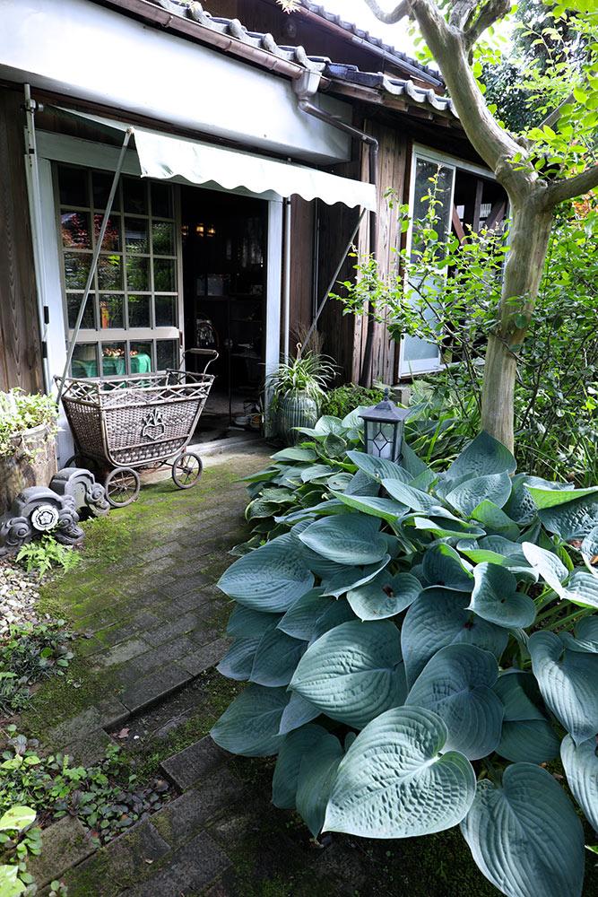 庭のアトリエ