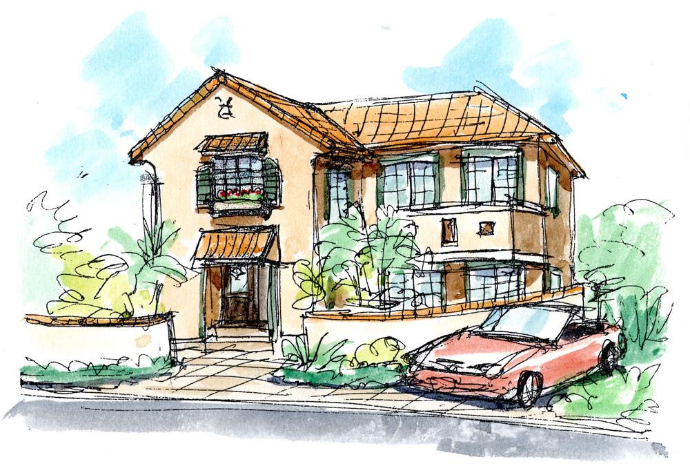 スパニッシュ(南欧風)の住宅様式