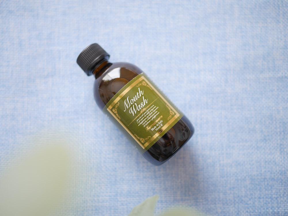 辛くないのに息スッキリ! シトラスとハーブ精油のフレッシュな香り テラクオーレ「テラクオーレ マウスウォッシュ」