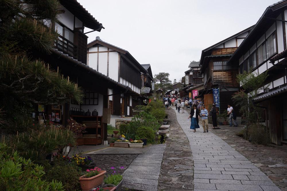 岐阜県の馬籠宿