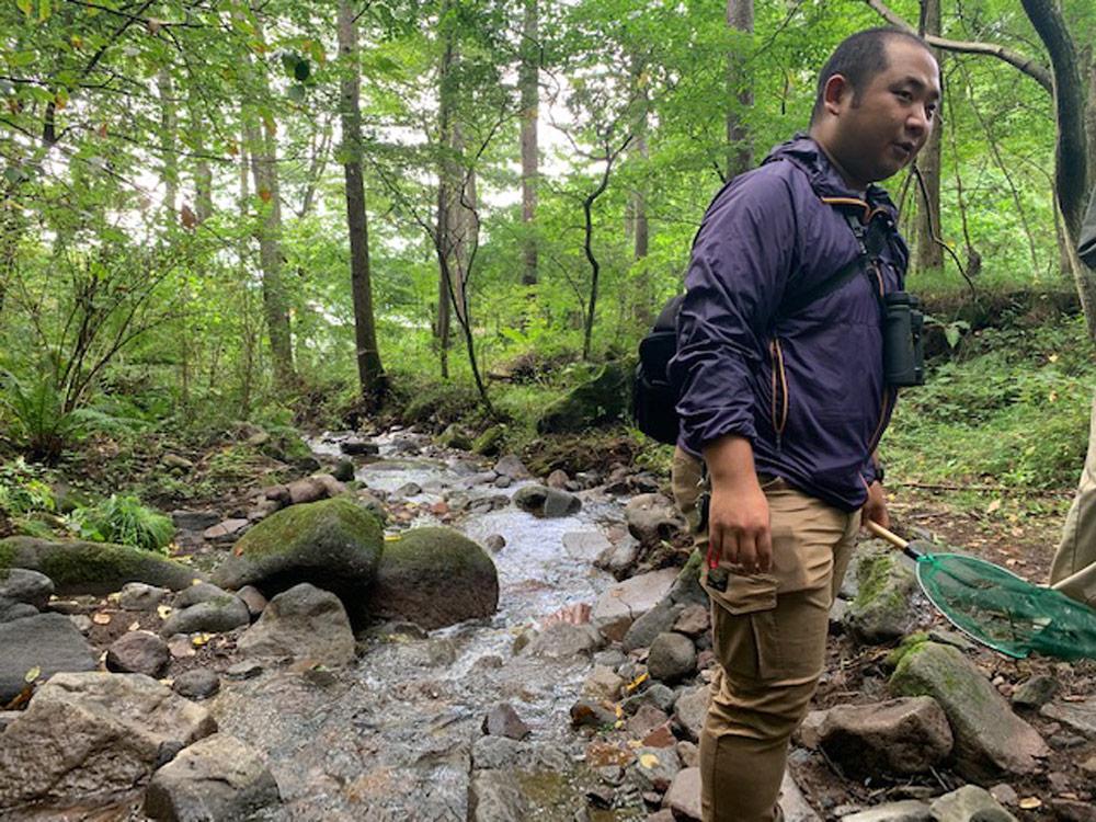 今月の植木屋:自然環境調査と環境教育のプロ、ビオトープ管理士 安部拓也