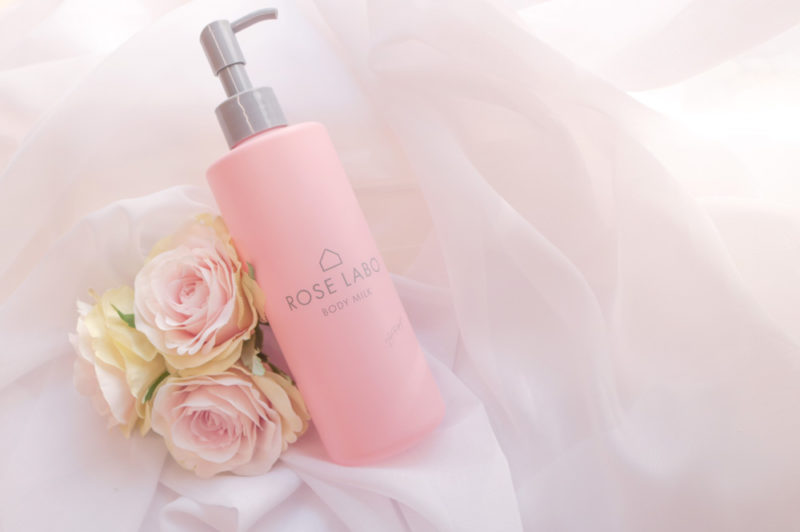 """ROSE LABO 通信 vol.10 """"食べられるバラ""""を使用した「ローズボディミルク」を新開発!"""