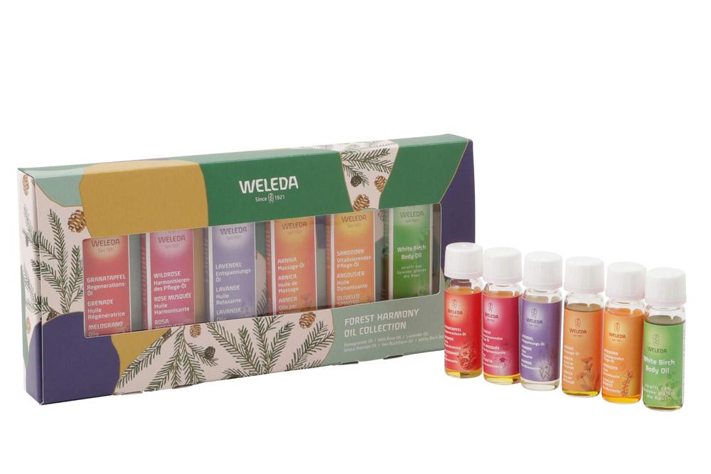 気分や目的に合わせて選べる6種のオイル「ヴェレダ フォレストハーモニー オイルコレクション」