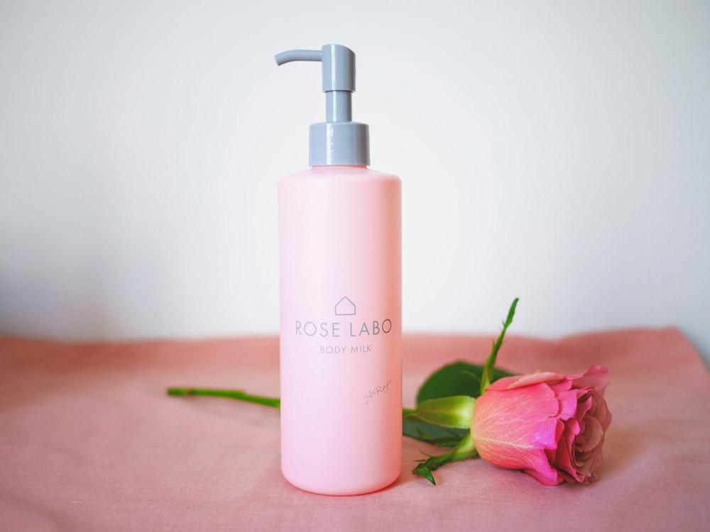 ビタミンA、Cが豊富なオリジナル品種のバラを使用 24 ROSE「Rボディミルク」