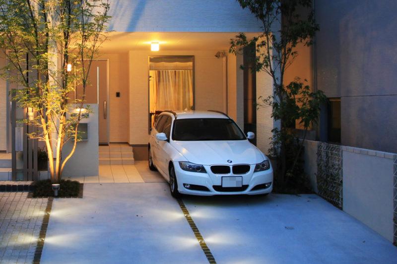 駐車場の種類に合わせたライトアップ方法