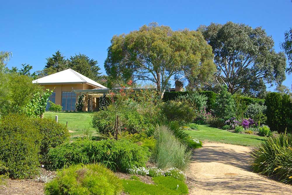 オーストラリアでの個人邸の庭
