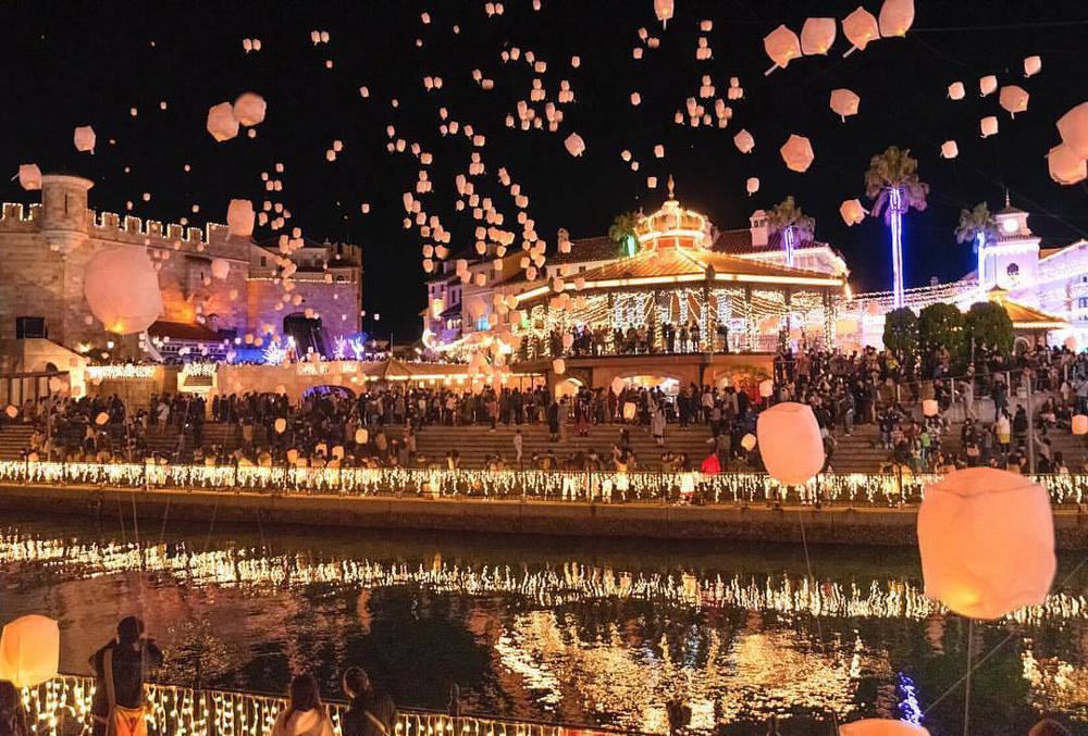 10万人が訪れる光のフェスティバル「フェスタ・ルーチェ in 和歌山マリーナシティ」