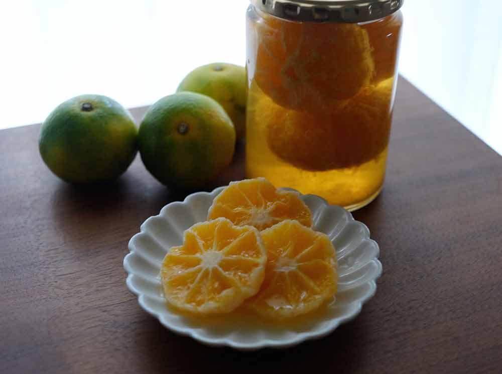 柑橘類のコンポート