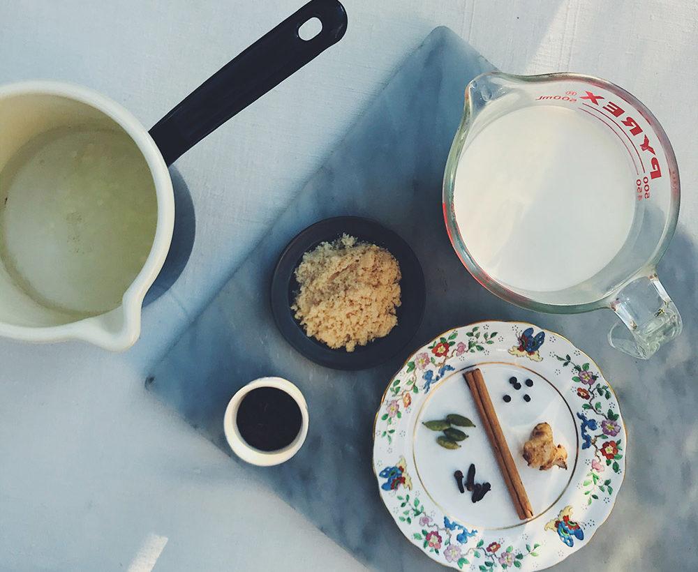 マサラチャイの作り方