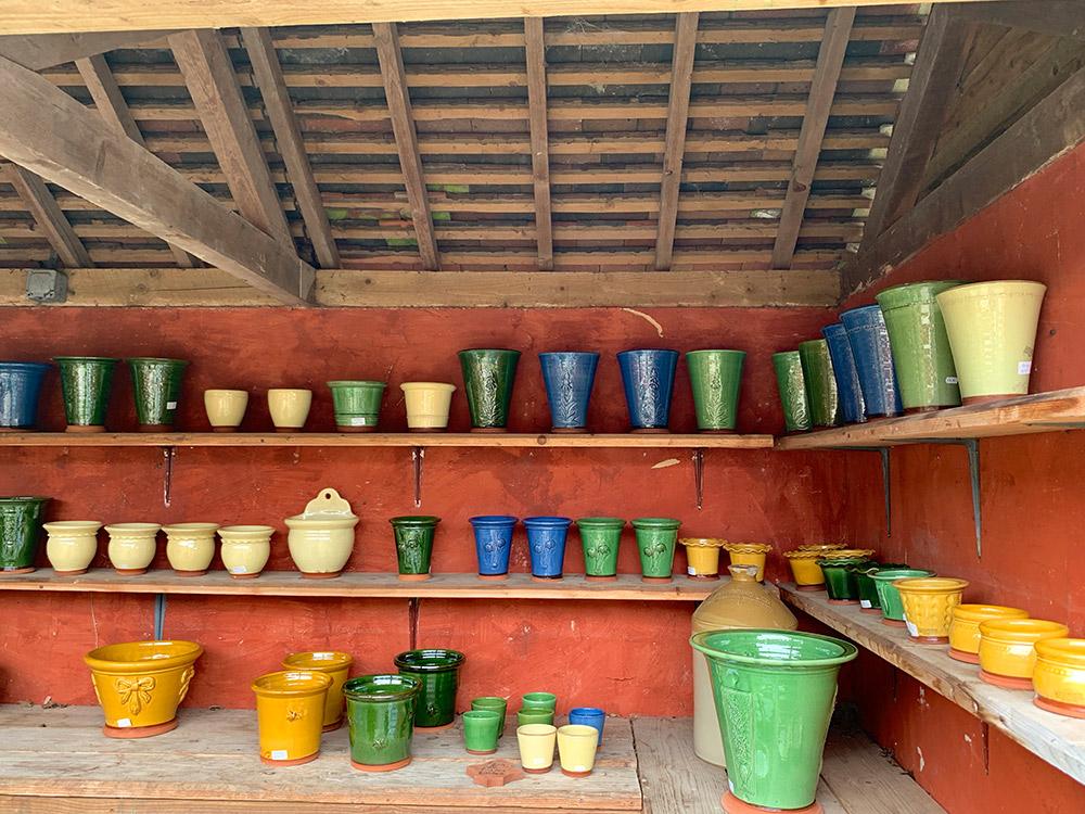 ウィッチフォードの植木鉢