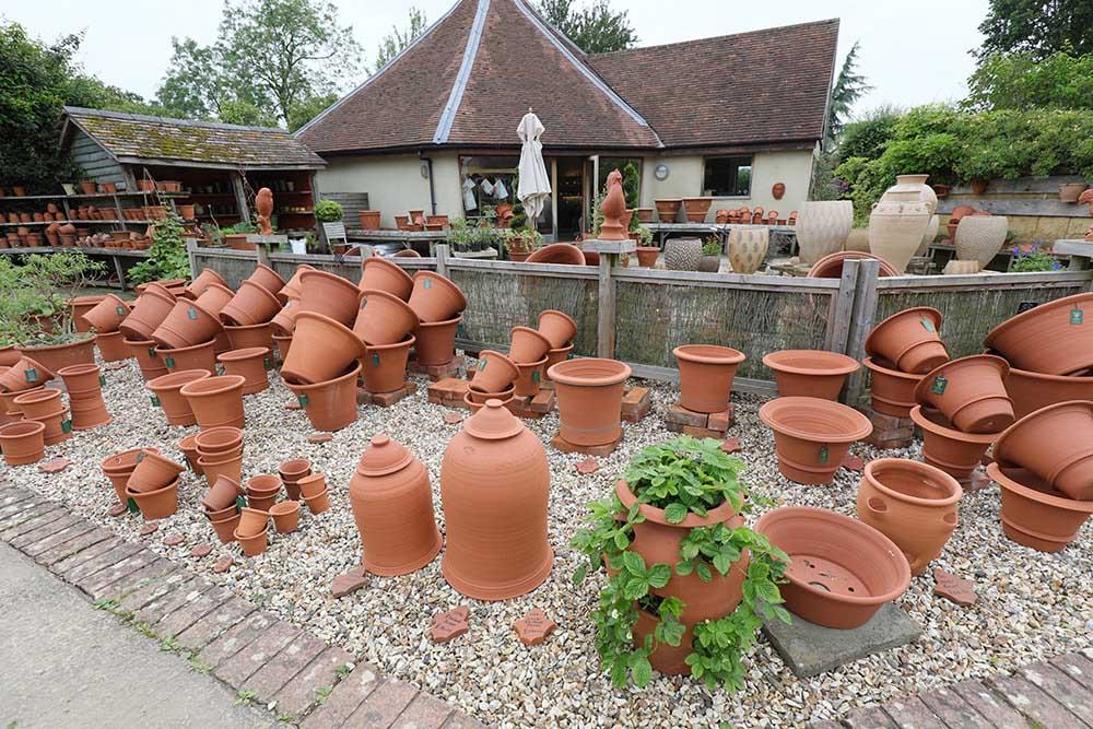 ウィッチフォード・ポタリーの鉢