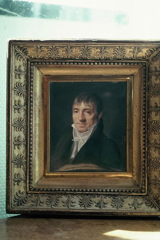 ルドゥーテ の肖像画