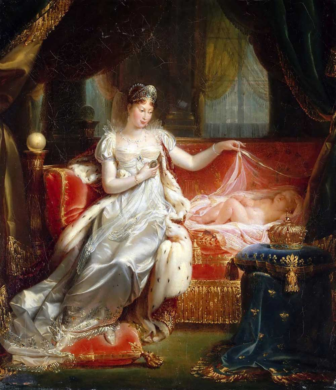 マリー・ルイーズとナポレオン
