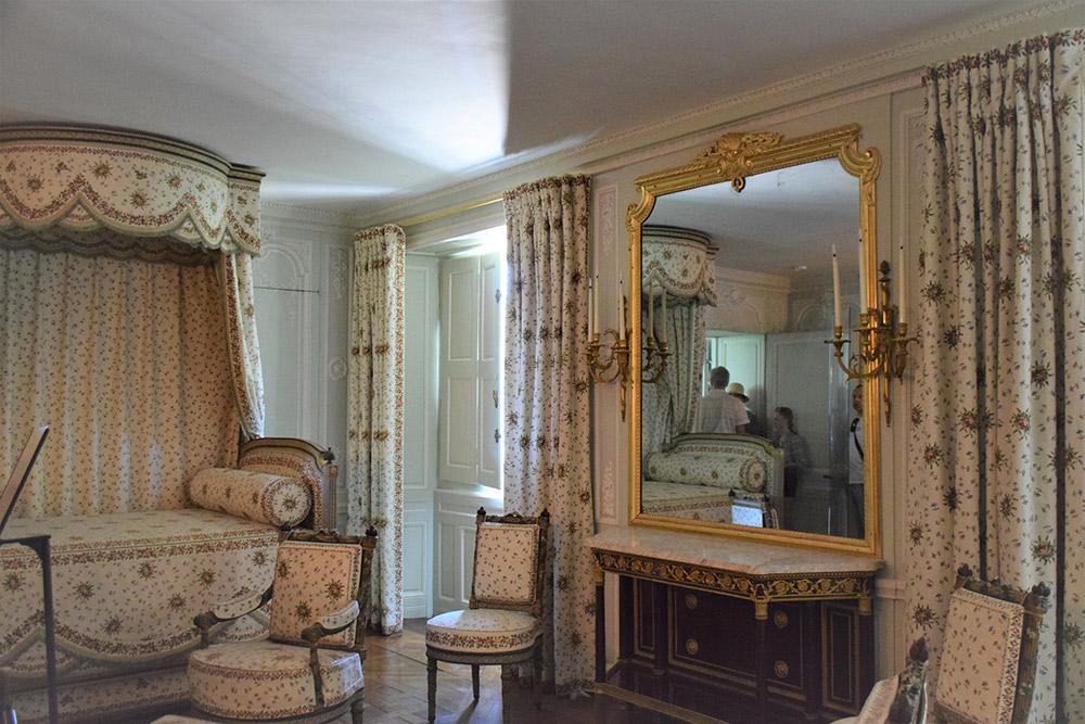 プチ・トリアノンの寝室