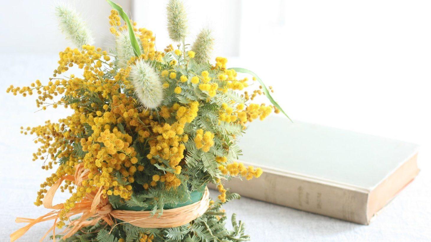 ミモザの 上手なドライフラワーの作り方と簡単アレンジ Gardenstory
