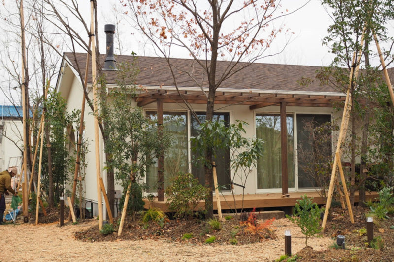 ガーデンセラピーが体験できる施設「花音の森」を作るまで
