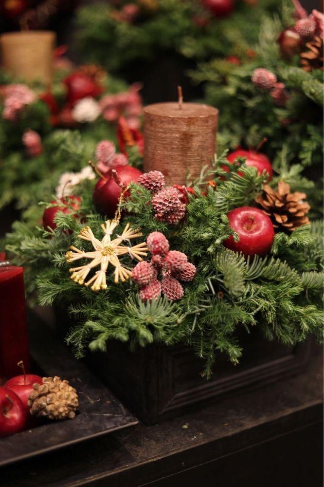 クリスマスの針葉樹
