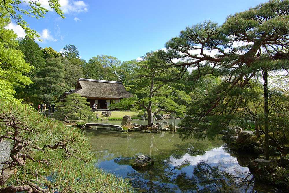江戸時代に作られた「桂離宮」。