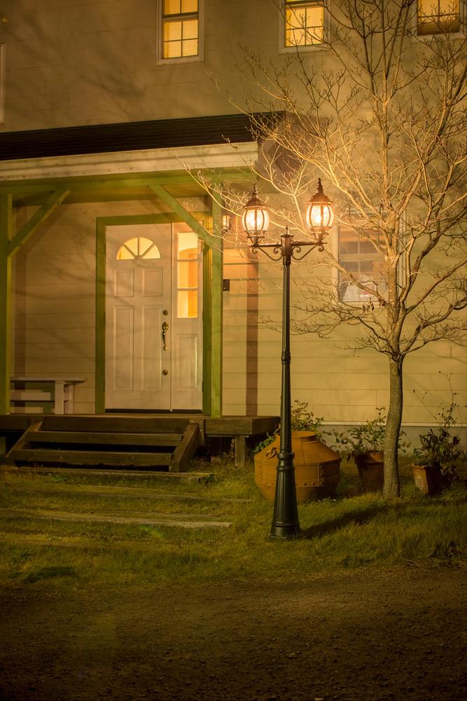 ガーデンライトの種類1:ポール型