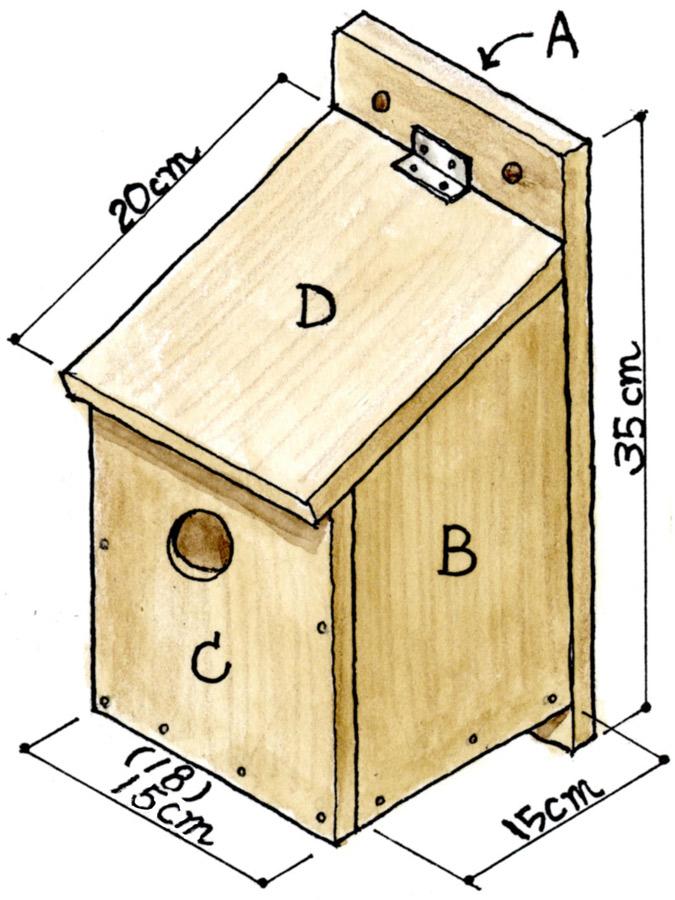 図2:巣箱の姿図
