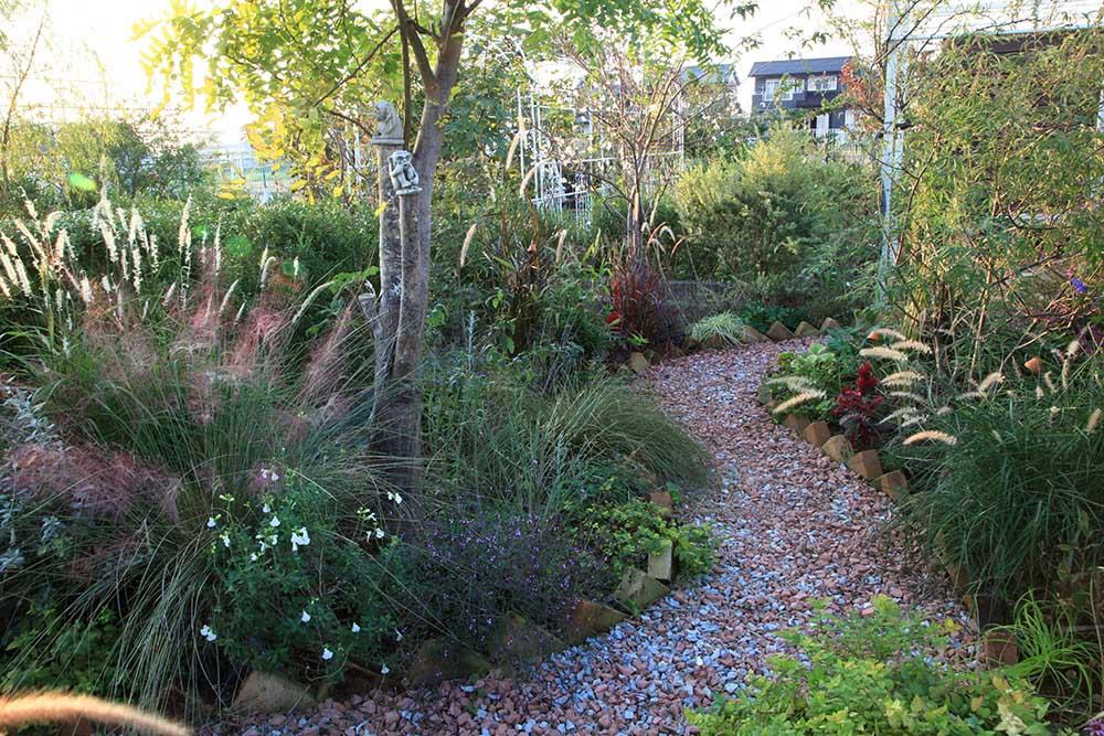 内田邸の庭