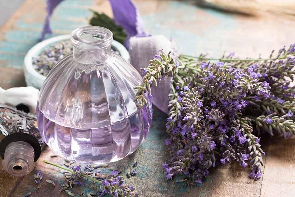 ラベンダーの香水