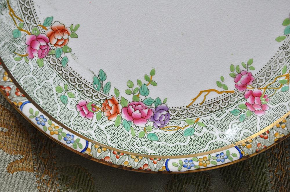 ヴィクトリア時代の皿