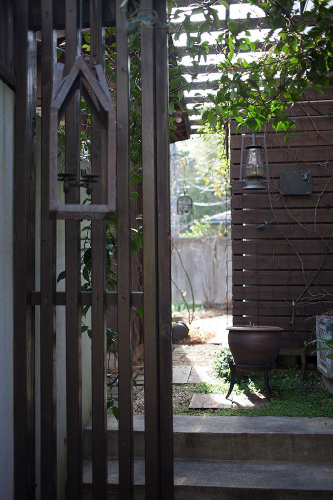 ガーデンの塗装
