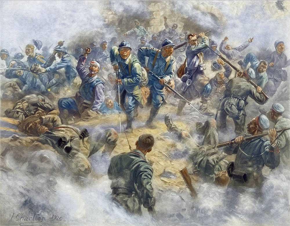 ヴェルダン、デュモン砦反抗