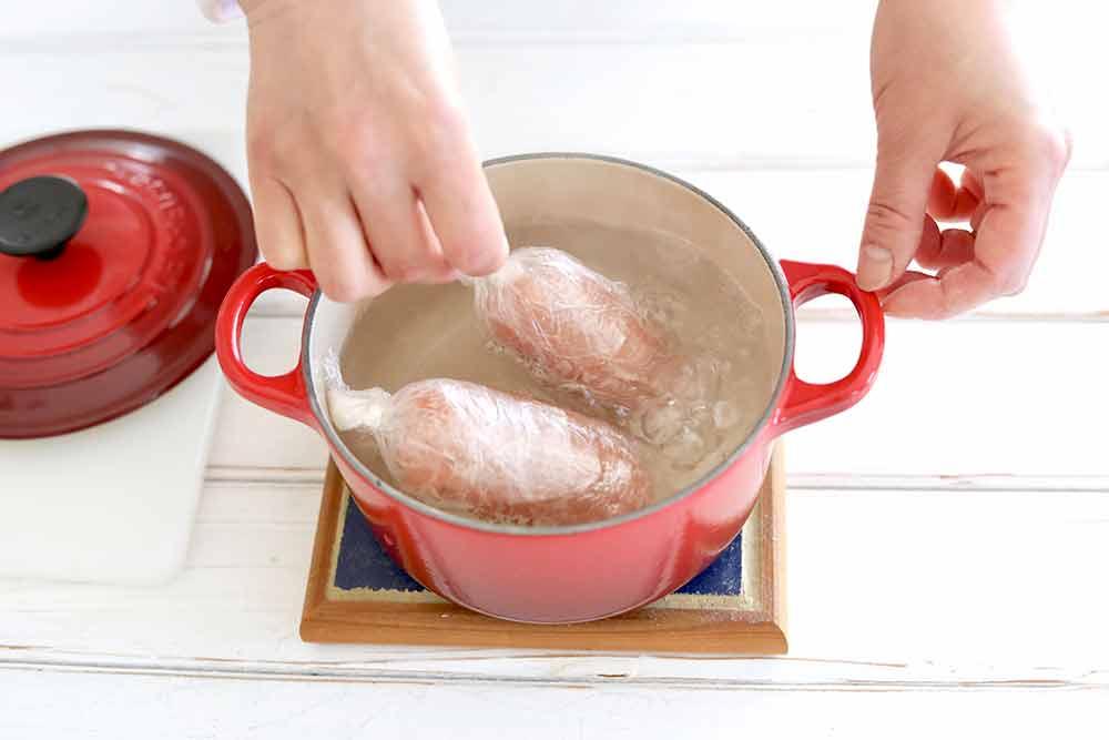 塩麹の鶏ハム
