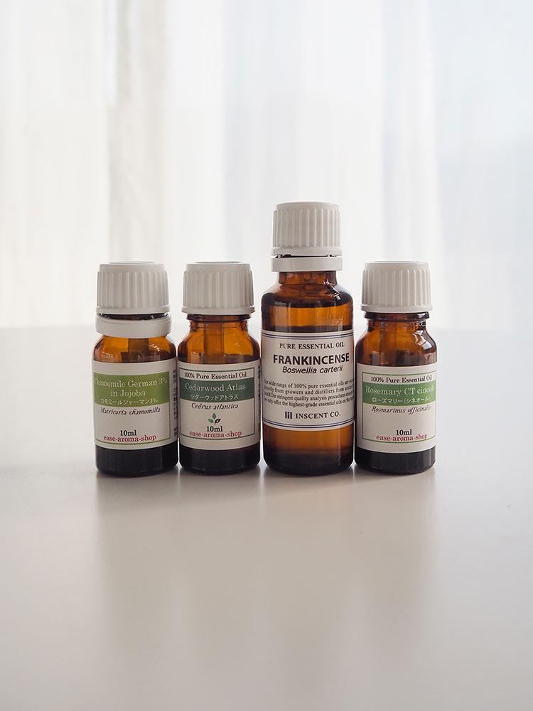 花粉症対策精油