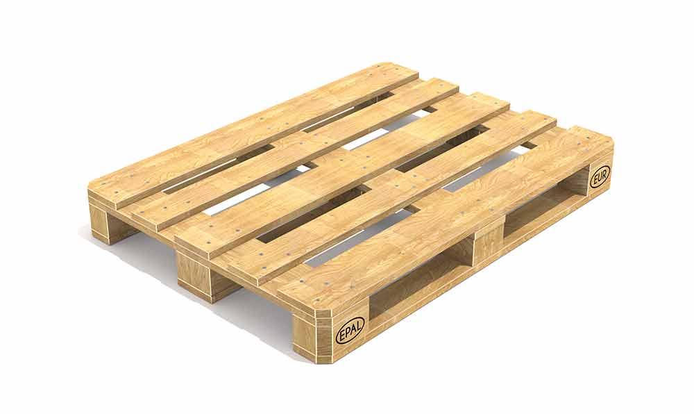貨物用パレット:荷物をコンテナで扱うときに使う大きなスノコ