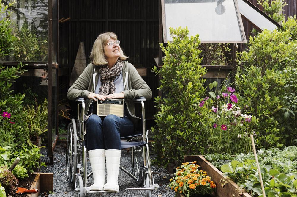 高齢者だけじゃない! だれにでも優しいユニバ―サルデザインの庭作り