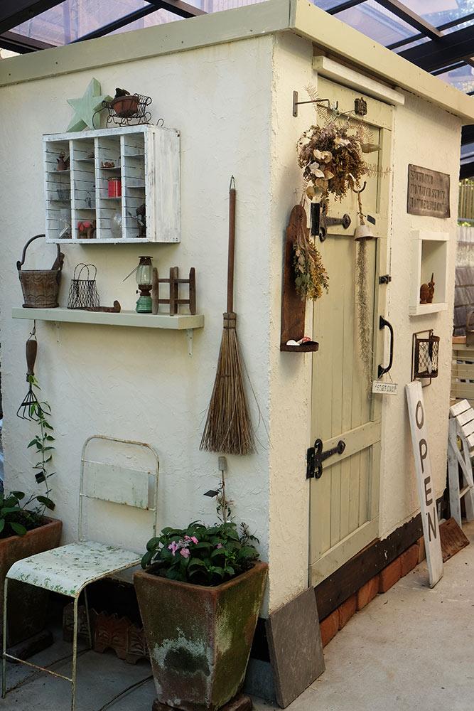 DIYの小屋
