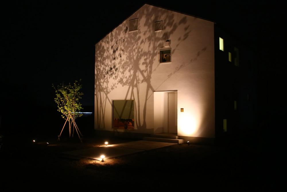 シンボルツリーをより印象的にライトアップする方法