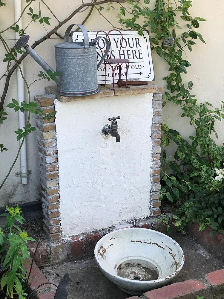 DIYの立水栓