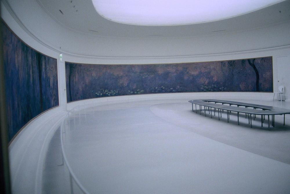 オランジュリー美術館のモネの作品