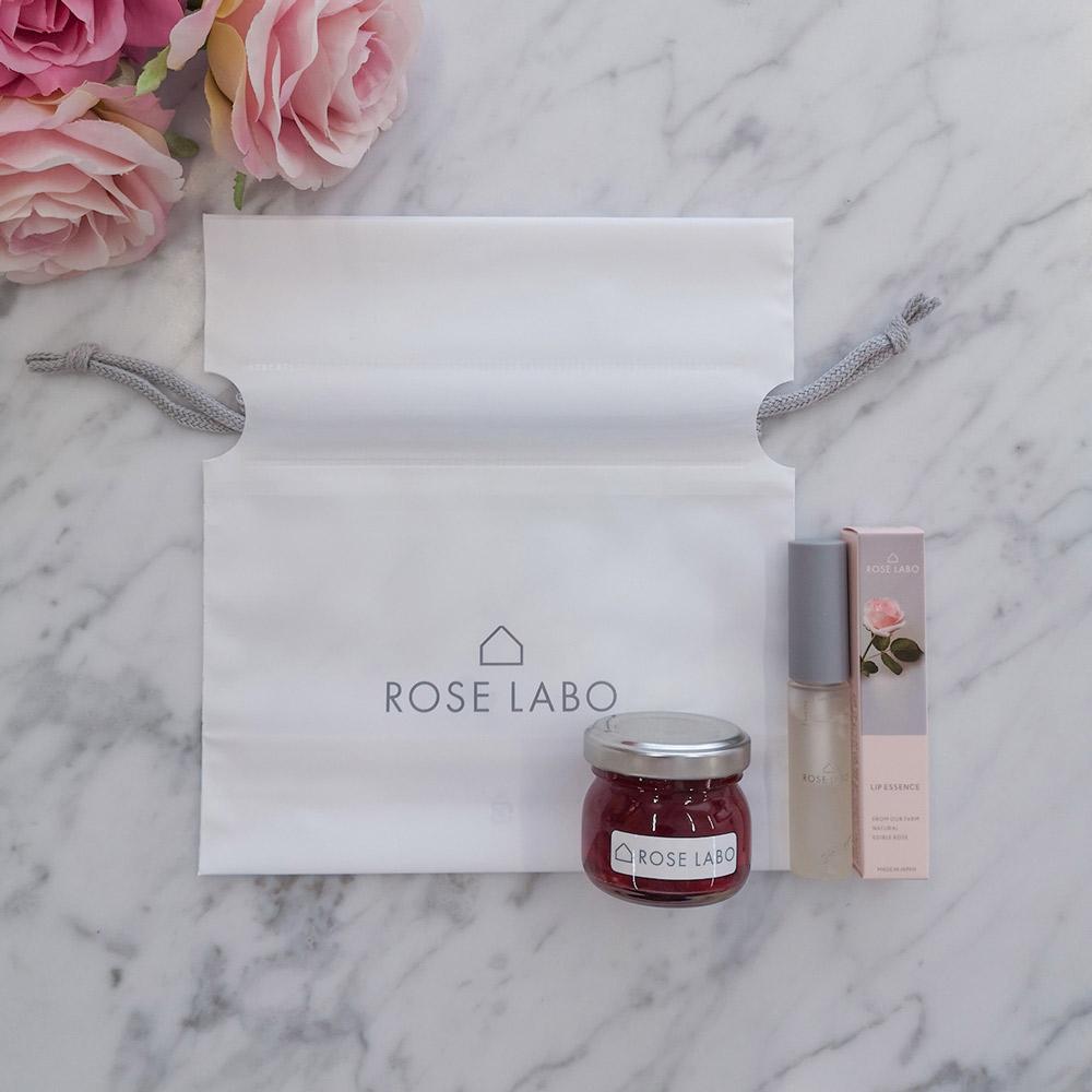 ROSE LABO「ローズリップ美容液+ミニジャムセット」