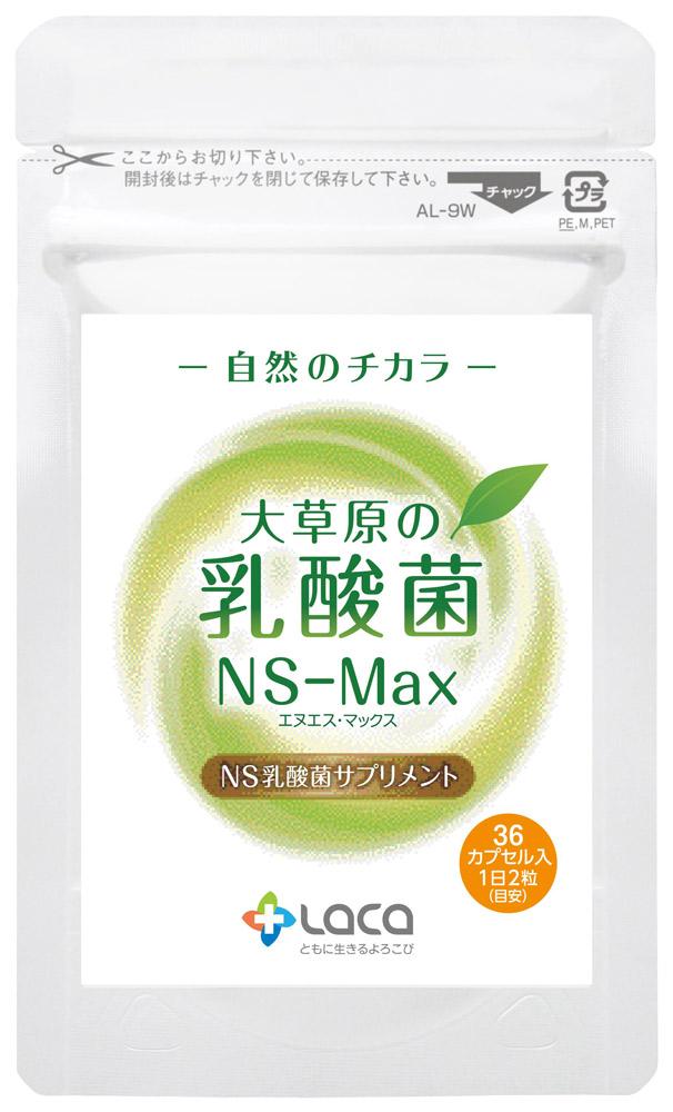 1カプセルに生きたままの乳酸菌が約3億個! アムリターラ『大草原の乳酸菌「NS-Max」』