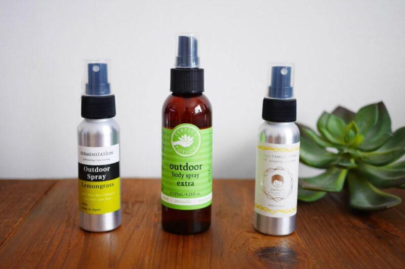 香りのよさも格別!植物の力で虫から肌を守る「アウトドアスプレー」3選