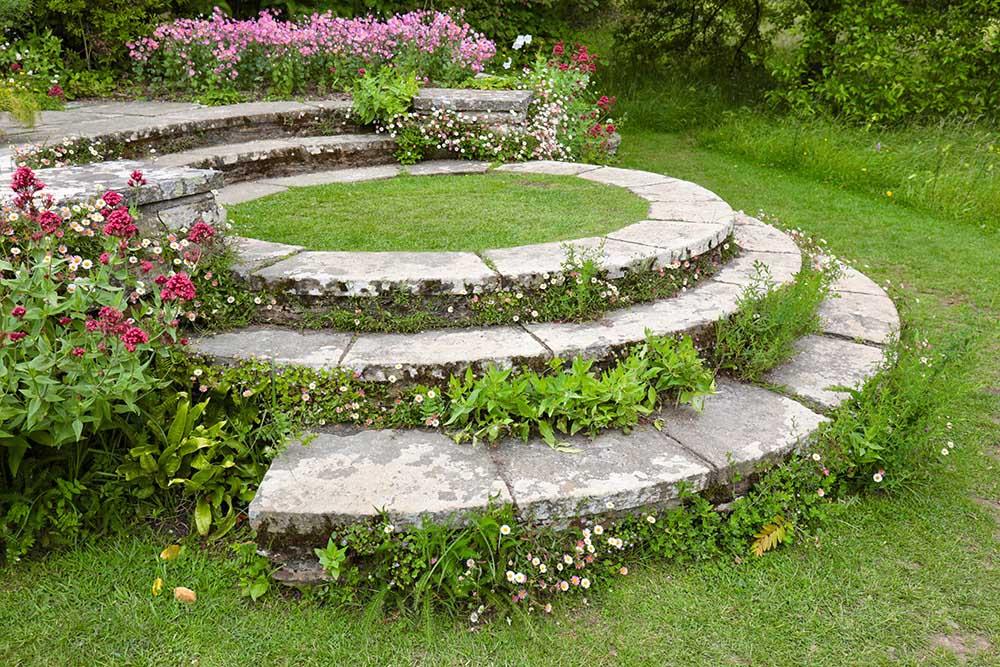 グレート・ディクスターの円形階段