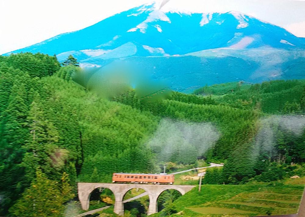 田沢義郎の鉄道写真絵葉書