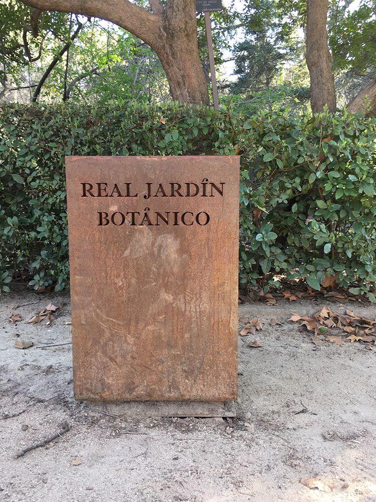 マドリード王立植物園