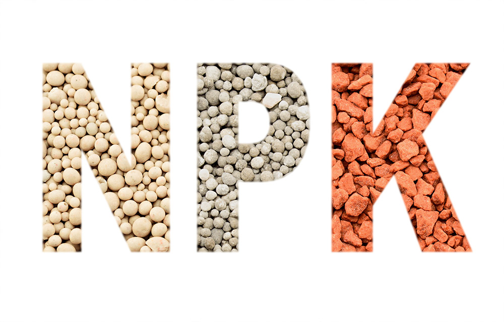 肥料の3要素「窒素・リン酸・カリ」