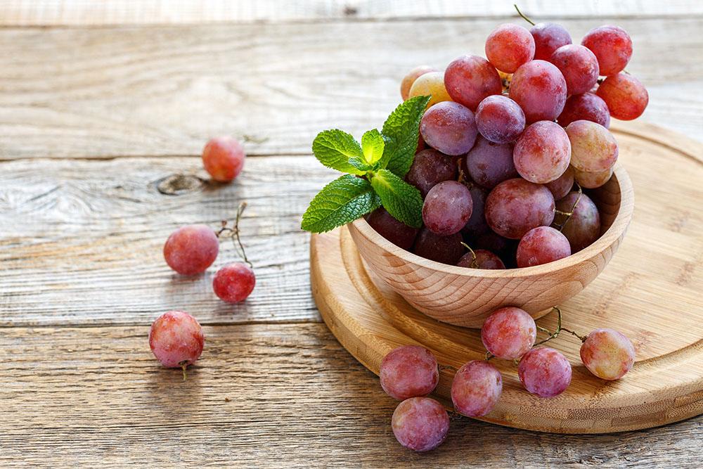 ブドウの栄養価